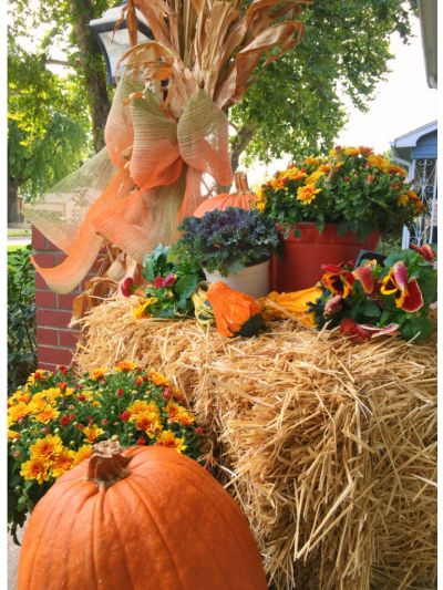 Fall Porch Decorating Package