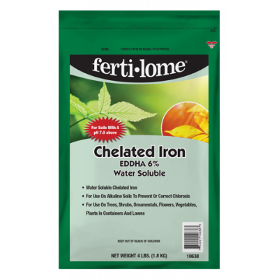 ferti-lome Chelated Iron (4 lbs.)
