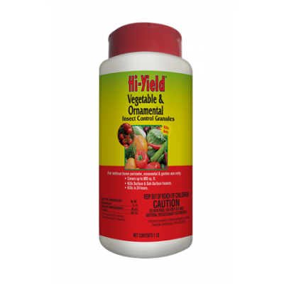 Hi-Yield Vegetable & Ornamental Insect Control Granules (1 lbs.)
