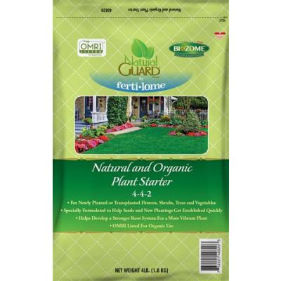 Natural Guard Organic Plant Starter (4 lbs.)