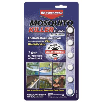 BioAdvanced Mosquito Killer Fizz Tabs (6-pack)