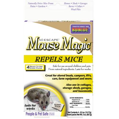 Bonide Mouse Magic Repellent (4-Pack)