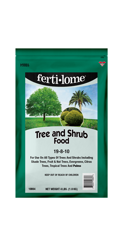 ferti-lome Tree & Shrub Food (4 lbs.)
